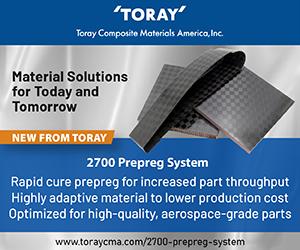 Toray 2700预浸料系统