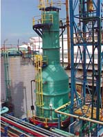 Dechlorination Tower