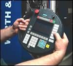 transfer machines' remote pendant