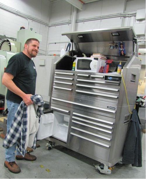 A Very Cool Tool Chest Modern Machine Shop