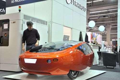 Urbee hybrid-electric vehicle