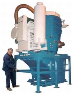 Vac-U-Max industrial vacuum system