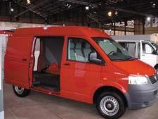 T5 Transporter van