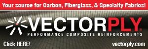 Vectorply provides carbon and fiberglass fabrics