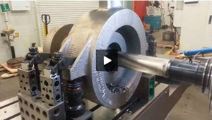 Video: C-Axis Interpolation for Turning on a Machining Center
