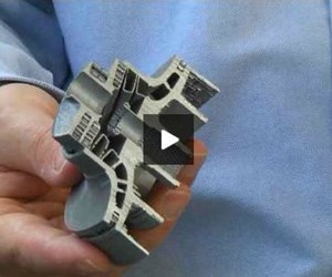 additively manufactured mold part