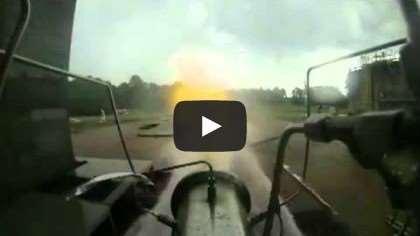rocket engine fuel injector test