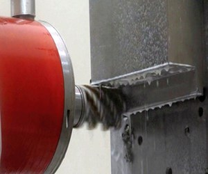 heavy titanium machining with high-torque spindle