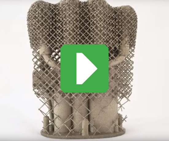 3D-printed structure
