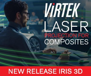 Virtek Laser Projection for Composites