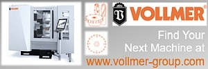 VOLLMER Grinding and Erosion Machines