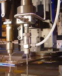 drill for waterjet of composites