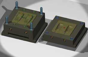 Automatic mold design
