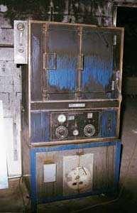 damaged equipment