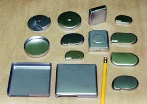 Various heart pacemaker parts