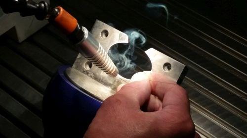 welding action