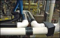Well-designed ducting system
