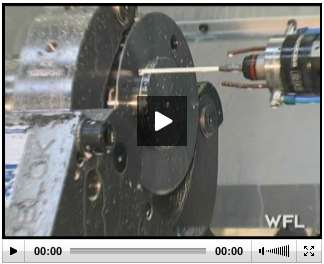 wfl millturn probing a camshaft section