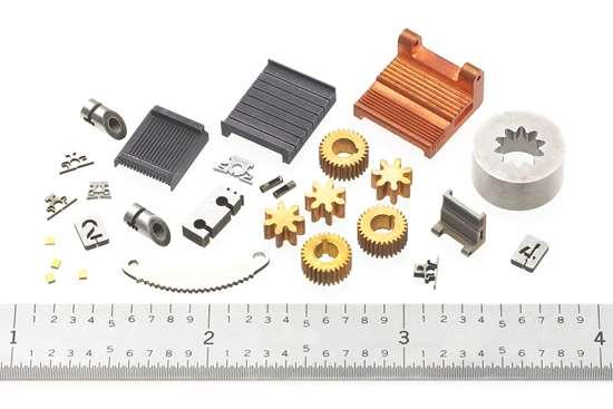 parts produced at XACT