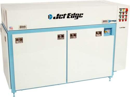 Jet Edge waterjet intensifier pump