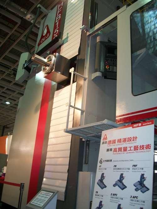 You Ji HFB 150 horizontal boring mill