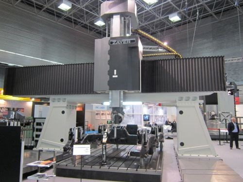 RA 5000 gantry-type milling center from Zayer