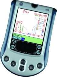 ZiPCAD CAD software for Palm OS handhelds