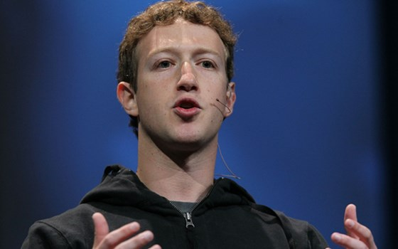 Mark Zuckerburg Facebook