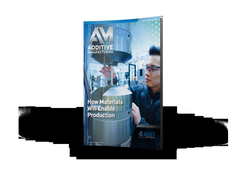 Additive Manufacturing Magazine cover