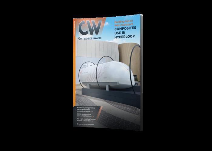 CompositesWorld Magazine cover