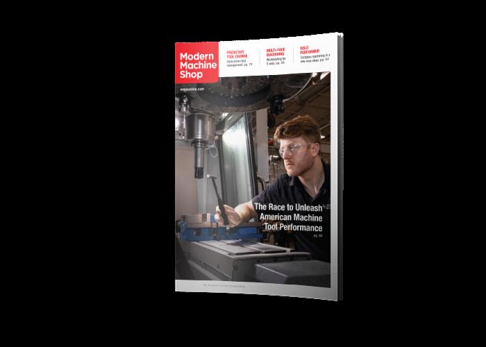 >Modern Machine Shop Magazine cover