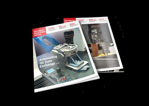 Modern Machine Shop Magazine covers