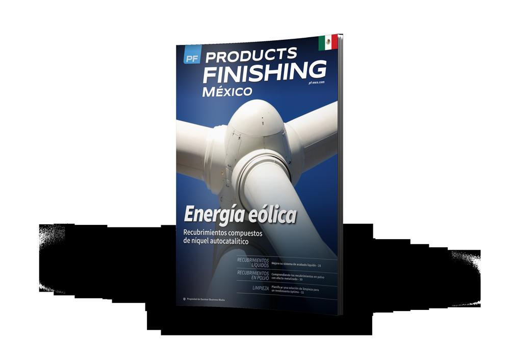 >Products Finishing México Magazine cover