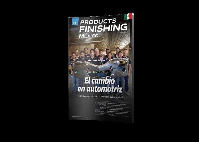 Products Finishing México Magazine cover