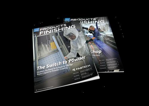 Products Finishing Magazine covers