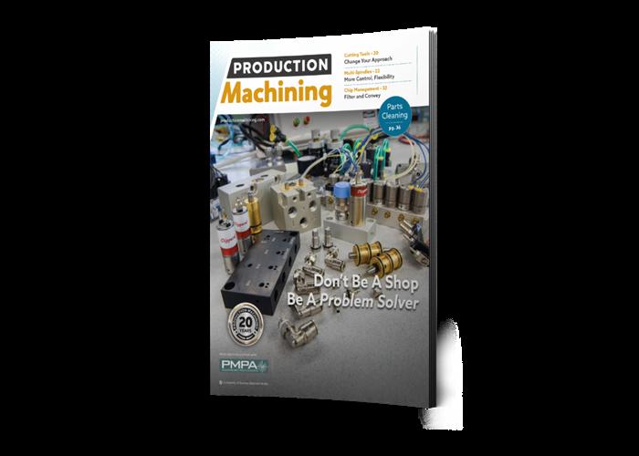 >Production Machining Magazine cover