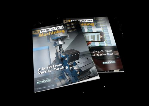 Production Machining Magazine covers