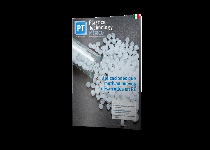 >Plastics Technology México Magazine cover