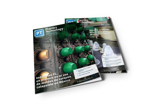 Plastics Technology México Magazine covers