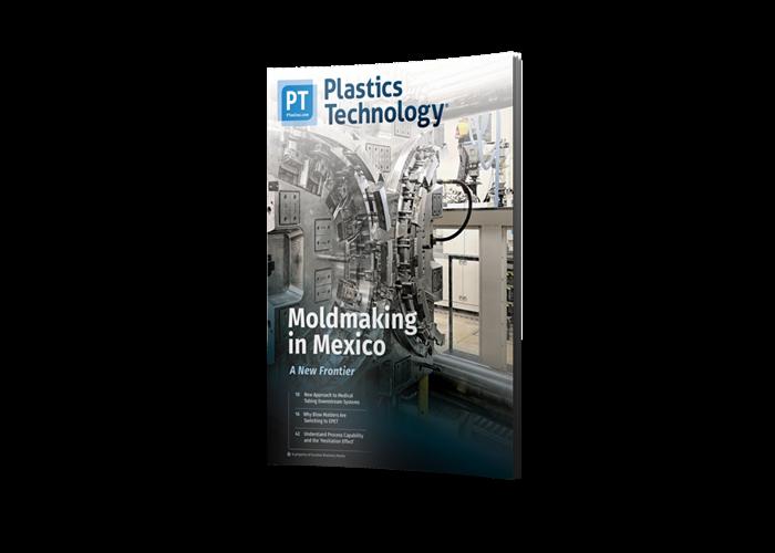>Plastics Technology Magazine cover