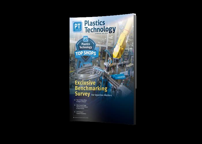 Plastics Technology Magazine cover