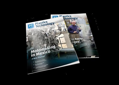 Plastics Technology Magazine covers